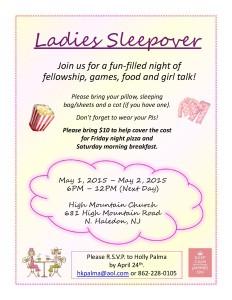 Ladies Sleepover1